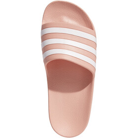 adidas Adilette Aqua Sandalias Mujer, dust pink/footwear white/dust pink